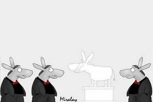 Misvak Dergisi'nden tepki çeken karikatür!