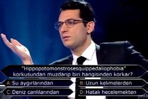 'Kim Milyoner Olmak İster'e damga vuran soru!