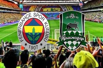 Fenerbahçe Krasnodar maçı ne zaman saat kaçta hangi kanalda?