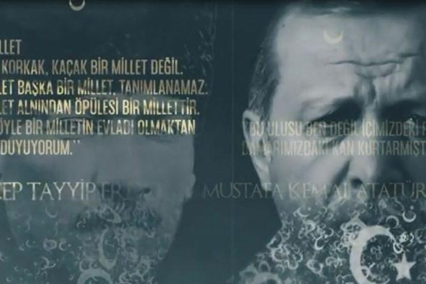 TRT Alparslan'la başlayıp Erdoğan'la bitirdi: Zafer liderle kazanılır, geleceğe cüret edin!