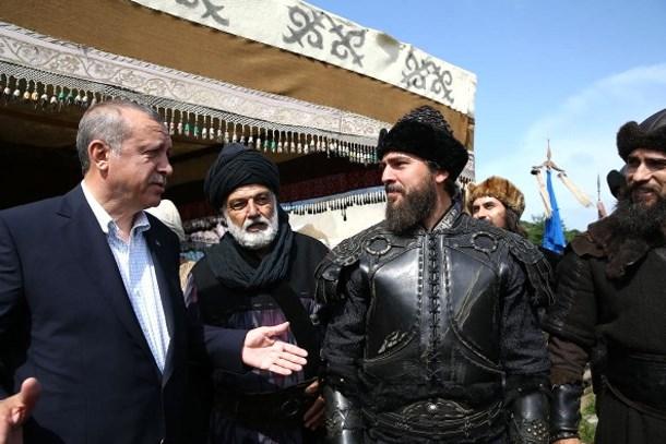Erdoğan'dan Diriliş Ertuğrul müjdesi: Devamı gelecek!