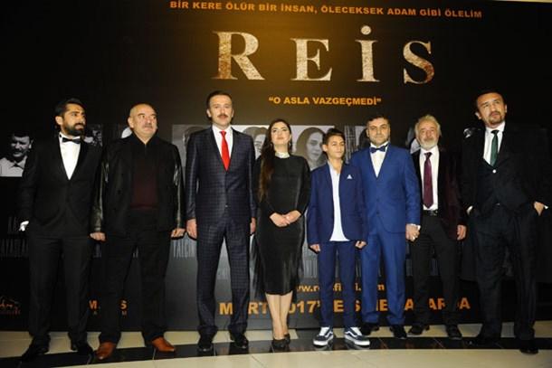 'Reis' filminin galası yapıldı!
