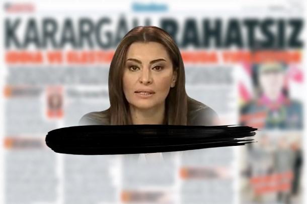 Hürriyet'in 'Karargâh rahatsız' manşetine soruşturma! Hande Fırat ifadeye çağrıldı!