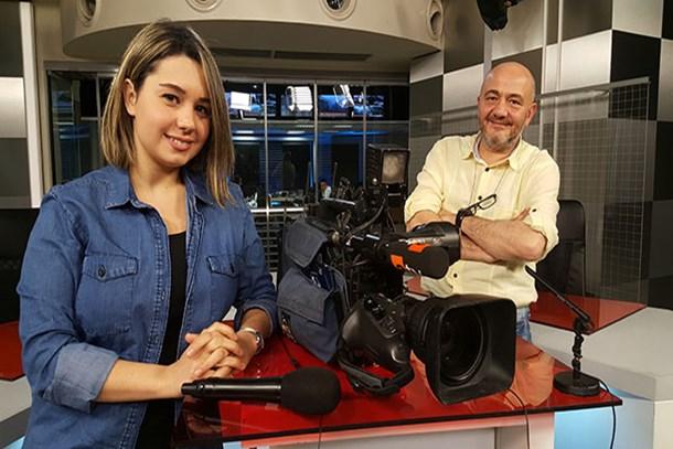 Babasının peşine takıldı, TV haberciliğine adım attı! (Medyaradar/Özel)