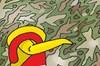 Hürriyet'ten asker karikatürü: Lütfen rahatsız etmeyiniz!