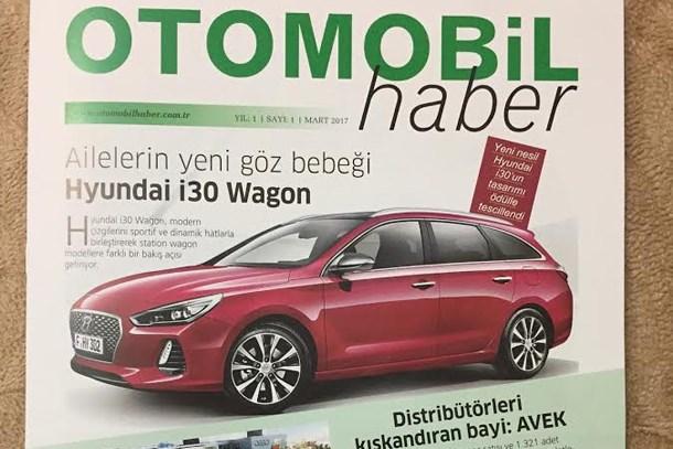 Yeni bir dergi okuyucu ile buluştu: 'Otomobil Haber'