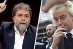 Ahmet Hakan'dan Hollandalı aşırı sağcı lidere: Pis faşist, domuzluğuna yapıyor!