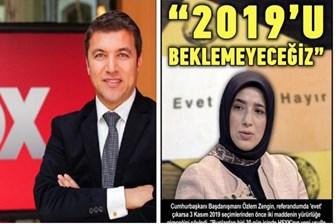 Küçükkaya '2019' manşetini attı, Cumhurbaşkanlığı Başdanışmanı ateş püskürdü!