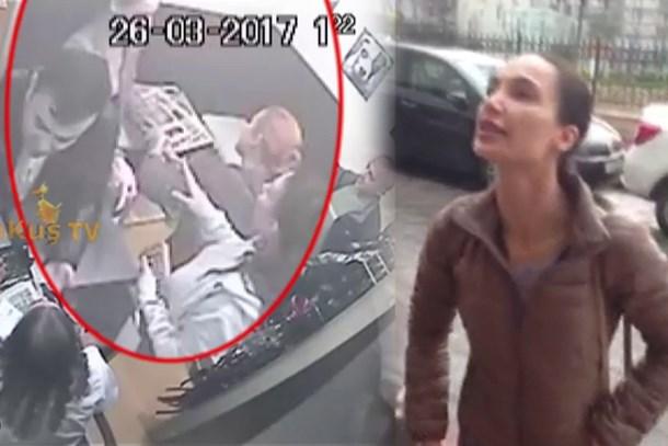 Hangi ünlü futbolcunun eşi doktoru tekme tokat dövdü?