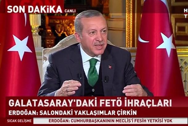 Erdoğan'dan Bild'in manşetine yanıt: Atatürk bugün kalksa 'Evet' derdi!