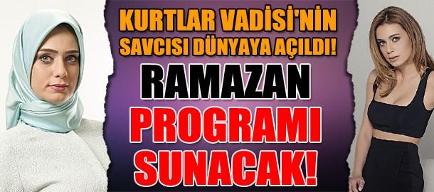 Kurtlar Vadisi'nin savcısı dünyaya açıldı! Ramazan programı sunacak!