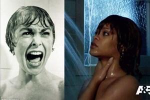 Efsane duş sahnesine bir de Rihanna ile bakın!