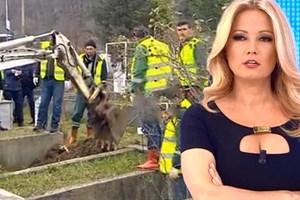 Türk televizyonlarında bu da görüldü! Canlı yayında mezar açıldı!