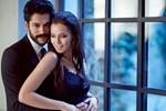 Burak Özçivit ve Fahriye Evcen nişanlandı! İşte nişandan ilk kareler!