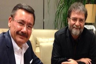 Melih Gökçek, Ahmet Hakan'la girdiği iddiayı kaybetti: Göndersene kardeşim takım elbiseyi!