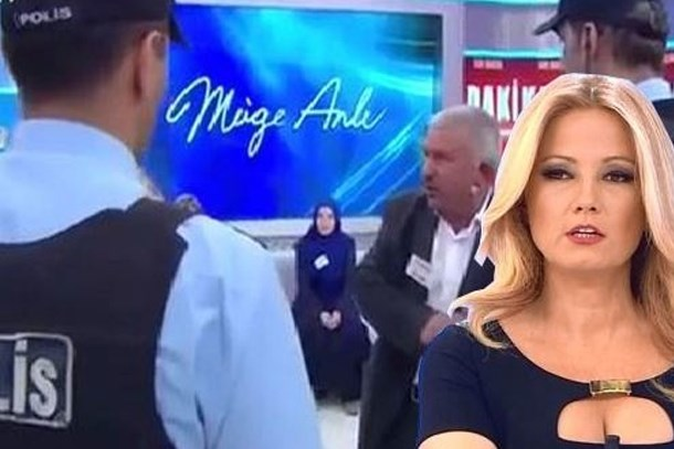 Müge Anlı'nın canlı yayınını polis bastı!