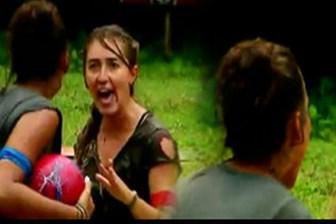 Survivor'da büyük kavga! Tuğçe ve Şahika havuzda birbirine girdi!