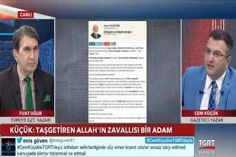 Yeni Şafak yazarı Kemal Öztürk: TGRT Haber'e yardım eden dindarlar nefretle olanları izliyor, utanç verici!