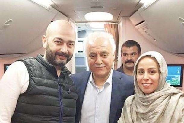 Nihat Hatipoğlu, Niran Ünsal'ın nikâhını 12 bin fitte kıydı!