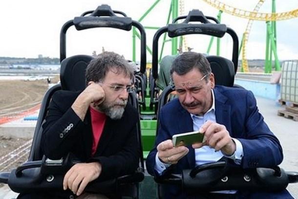 Melih Gökçek ile Ahmet Hakan takım elbise için Twitter'da kapıştı!