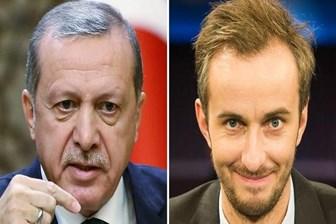 Erdoğan'dan Alman komedyen Böhmermann'a suç duyurusu!