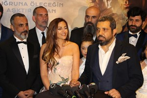 Bordo Bereliler Suriye filminin galası yapıldı