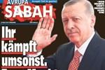 Almanya'dan Sabah Gazetesi'ne soruşturma!