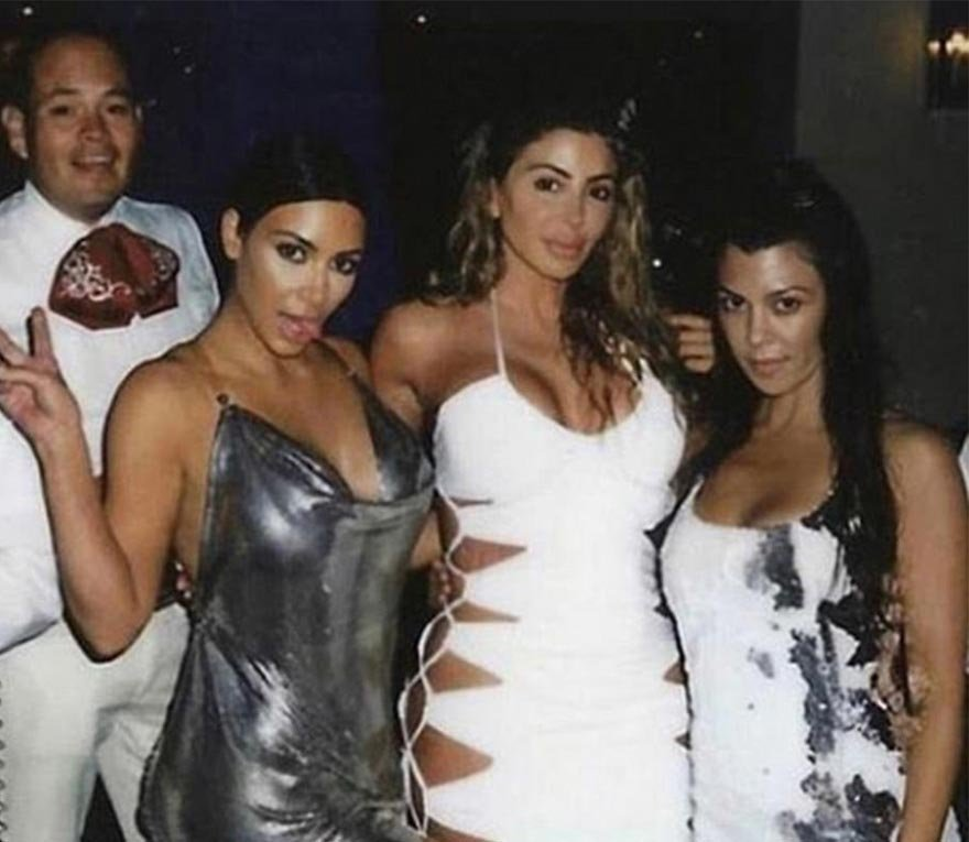 Kim Kardashian'ın en yakın arkadaşı göz dolduruyor