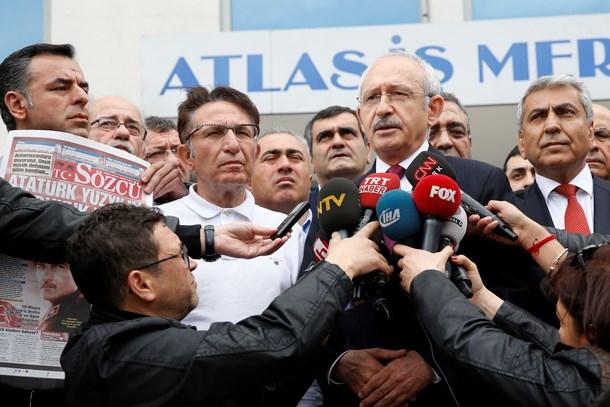 CHP lideri Kılıçdaroğlu'dan Sözcü'ye ziyaret!