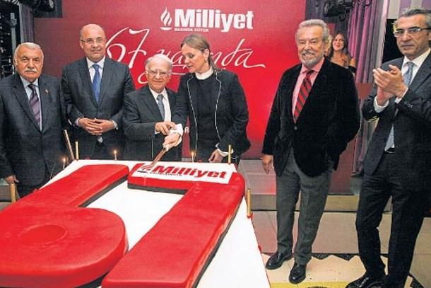 Milliyet 67'nci yaşını kutladı!