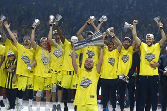 Sonunda oldu! Fenerbahçe Euroleague Şampiyonu!