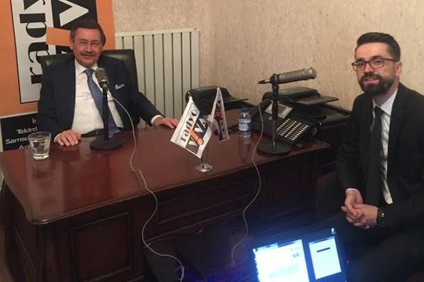 Melih Gökçek'ten Ahmet Hakan'a tavsiye: Haber sunuculuğunu bıraksın!