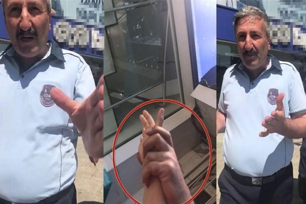 Habertürk muhabirine zabıtadan çirkin saldırı!