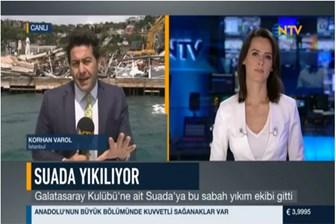 Hıncal Uluç NTV ve muhabirine fena saydırdı: Cahil, hukuk cahili, gazetecilik cahili, yayıncılık cahili!