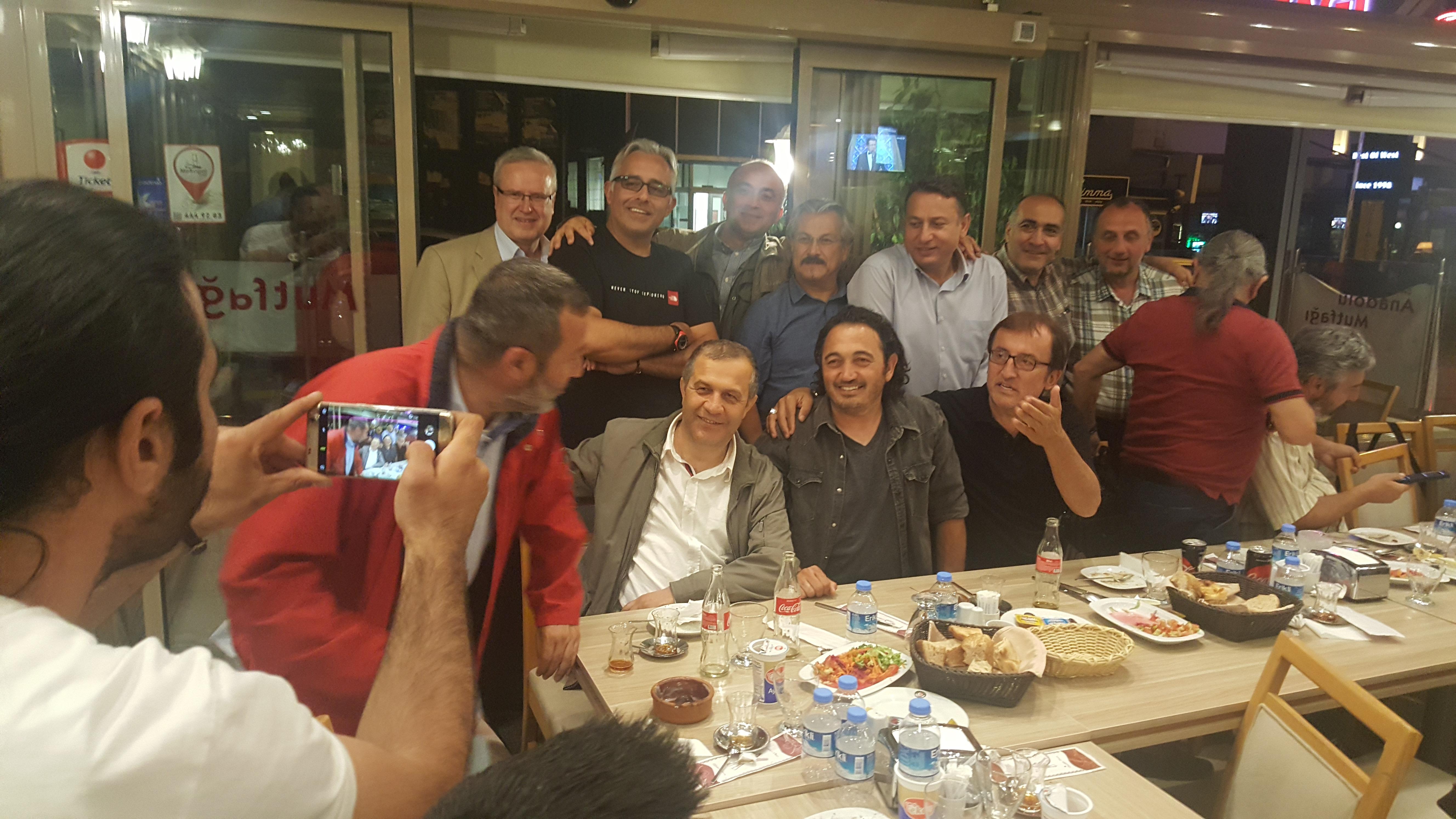 Ankaralı haberciler iftarda buluştu!
