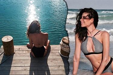 Survivor'ın eski yarışmacısının bikinili pozları Instagram'ı salladı!
