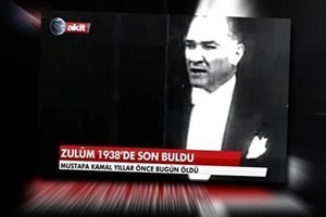 Akit TV'den 'Zulüm 1938'de son buldu' başlığına pişkin savunma:
