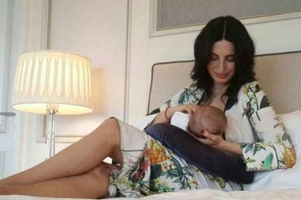 Başak Sayan'dan annelik itirafı: Aman emmezlerse uğraşamam!