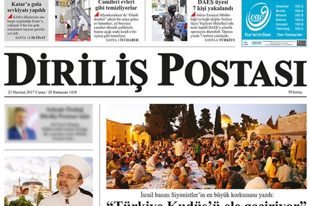 AK Partili vekil Diriliş Postası'na yazar oldu!