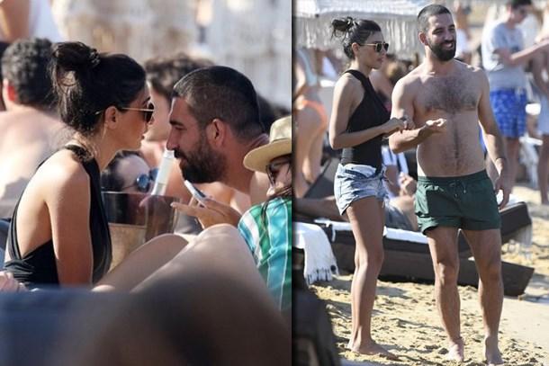 Arda Turan ile Aslıhan Doğan'ın tatilini dünya duydu!