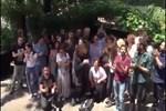 Dayan Yüreğim'in set ekibi ve oyuncularından Endemol'un önünde protesto!