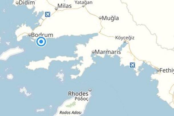Muğla'da 6.2 şiddetli deprem! Sular 1 metre yükseldi!