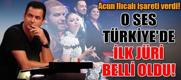 Acun Ilıcalı işareti verdi! O Ses Türkiye'de ilk jüri belli oldu!