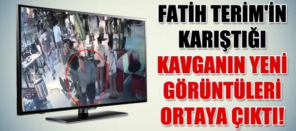 Fatih Terim'in karıştığı kavganın yeni görüntüleri ortaya çıktı!