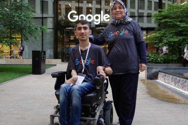 Engelini aştı Google'dan burs aldı!