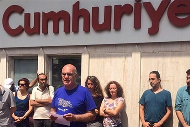 Gazetecilerden 'Cumhuriyet davası'na çağrı: Sen de gel!