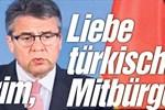 Alman Bild gazetesinden Türkçe başlık!