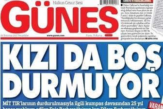 Ertuğrul Özkök'ten Güneş'e sert tepki: 'Ethem Bey gazetenizdeki bu haberi gördünüz mü?'