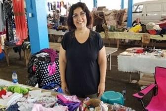 Füsun Demirel tezgâh açtı: Bu pazar benim tek kaçış yerim