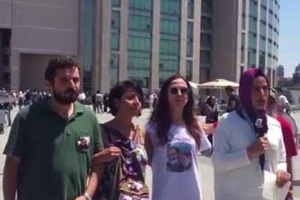 TRT ve A Haber'in canlı yayınında basın özgürlüğü eylemi!